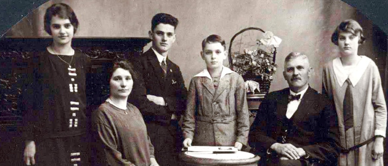 Portret van Familie Selen